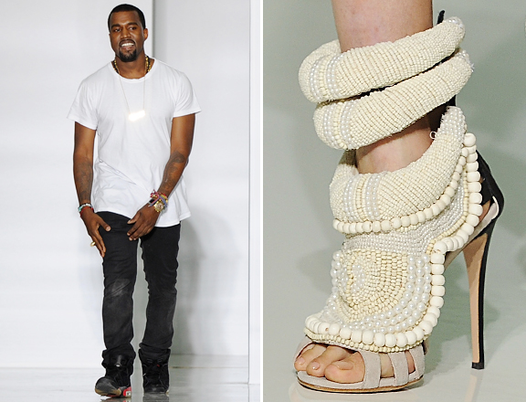 62194c69f Fly Fashion  Giuseppe Zanotti For Kanye West At Colette Online