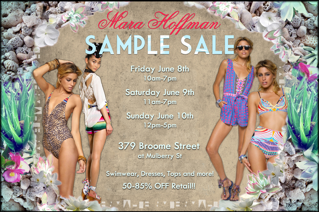 Mara Hoffman Sample Sale | The Fly Girl Guide