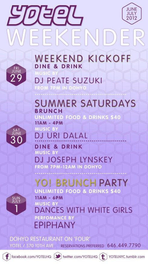 Yotel Brunch