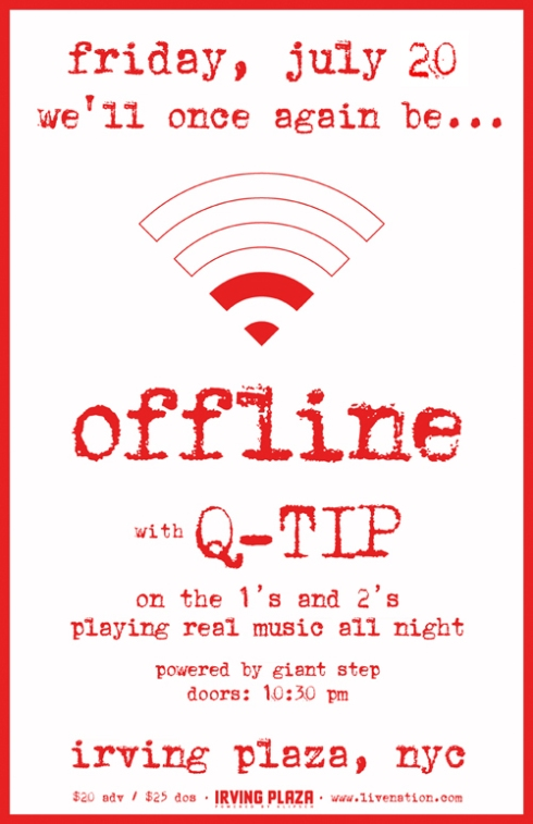 Q-TIP Presents The Second Installment of Offline