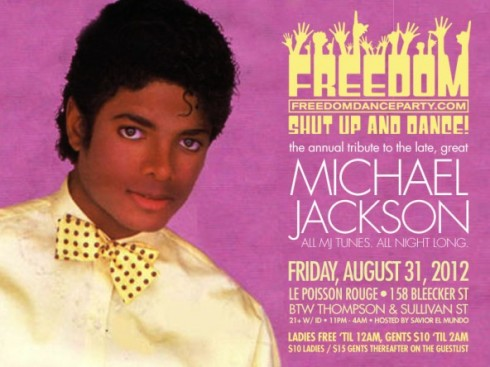 The Freedom Dance Party's Annual  Michel Jackson Tribute