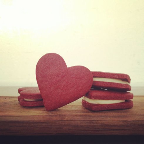 Butter + Love's Red Velvet Cookies (Half-Dozen)