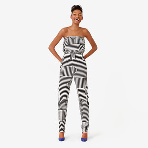 Jump Around Jumpsuit in Zig Zag