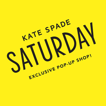 katespadesaturday