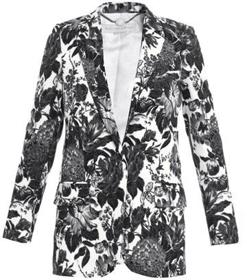 Stella-McCartney-Floral-Print-Blazer