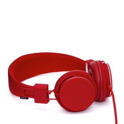 Urbanears-Plattan-Plus-Red-Headphones