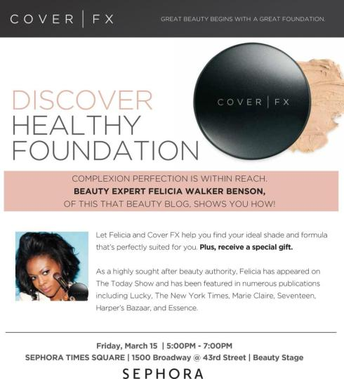 Discover Healthy Foundation with Beauty Blogger Felicia Benson